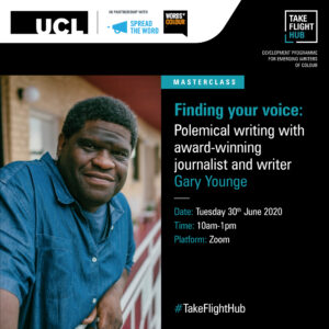 Finding your voice: Polemical writing with Gary Younge