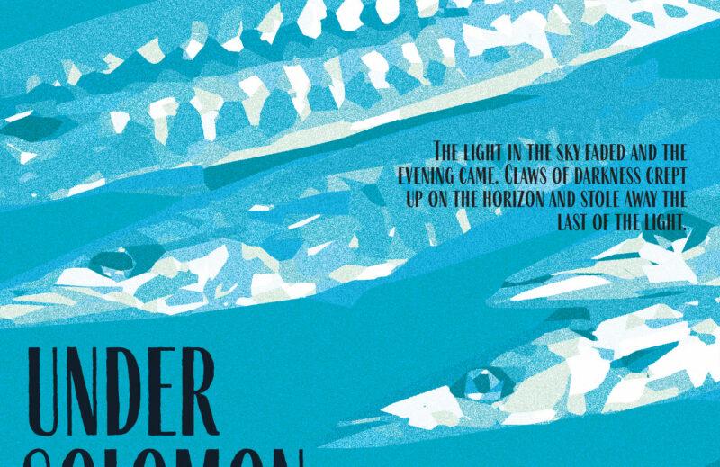 Under Solomon Skies - Book Cover